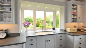 kitchen bay window