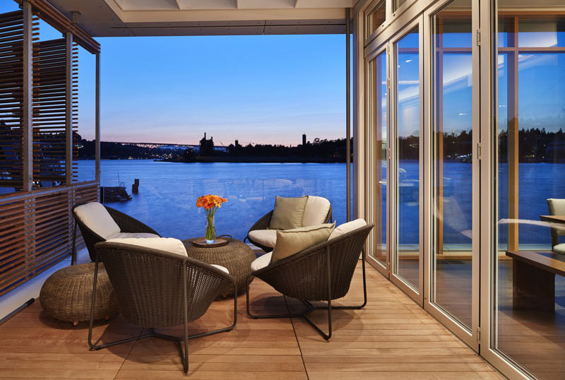 Floating House terrace