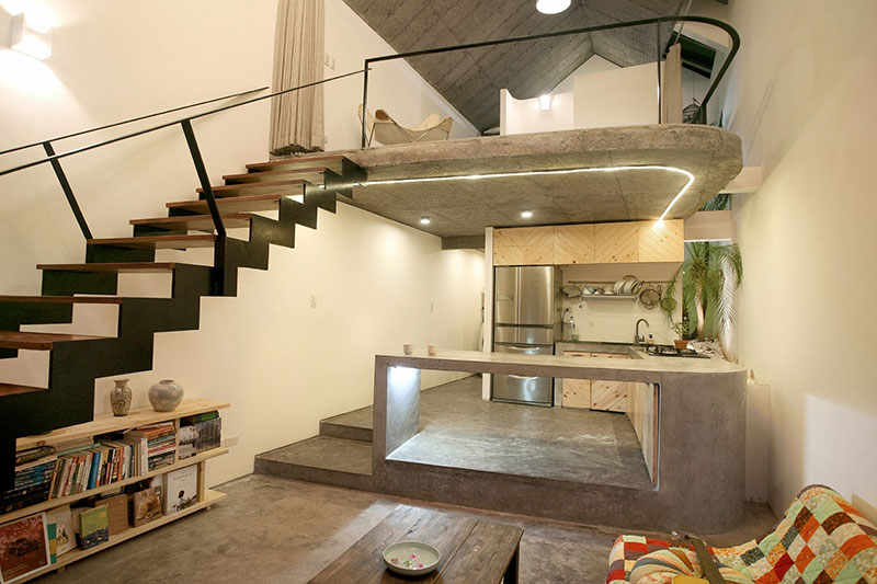 Maison T interior