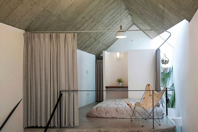 Maison T bedroom