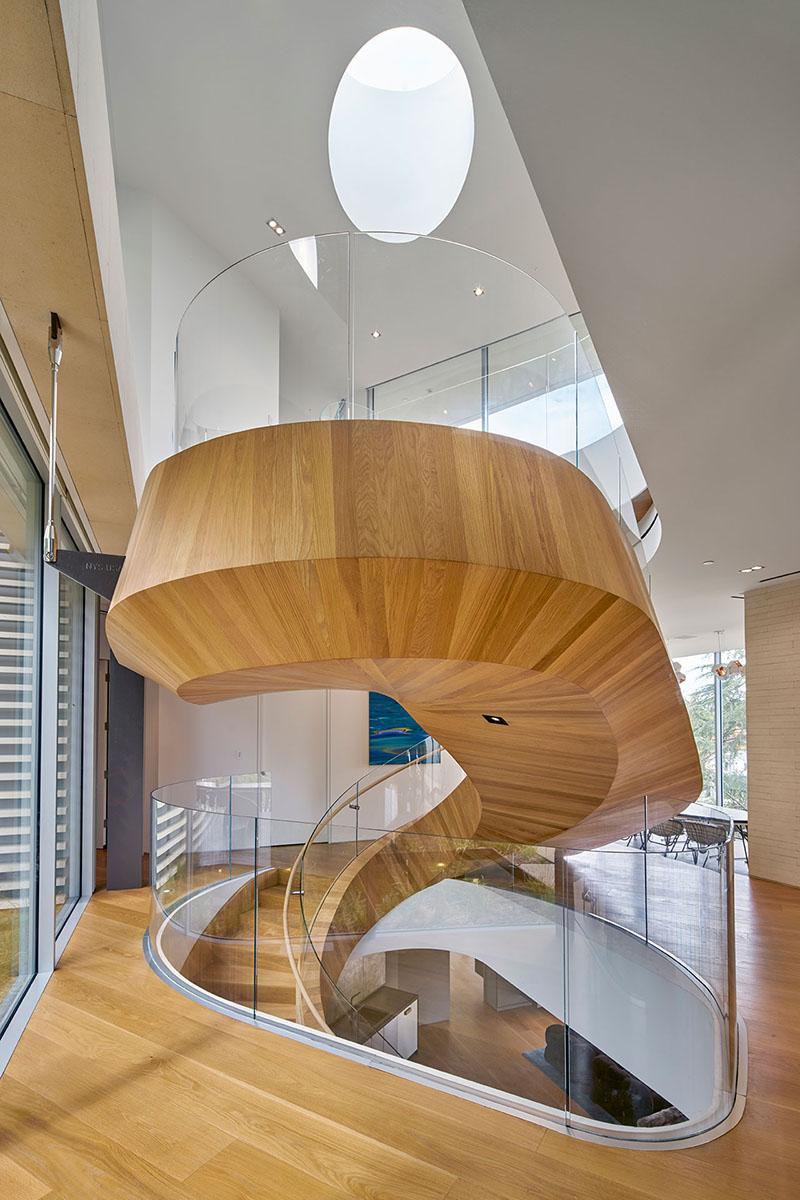 Tree Top Residence stairs