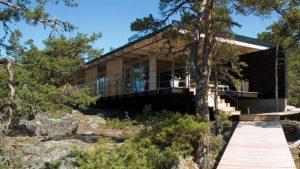 cabin rocky