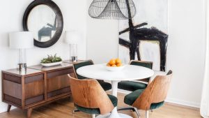 chair dine wood con