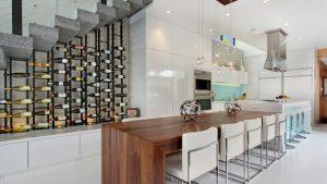 kitchen wine cellar