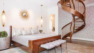 spiral bedroom