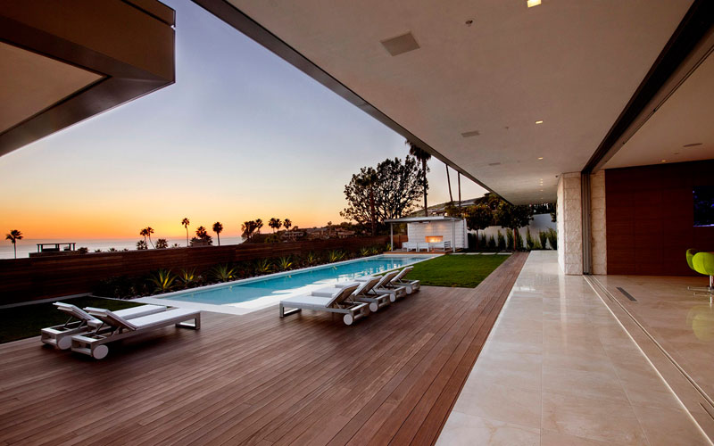 McLeroy Residence swimming pool