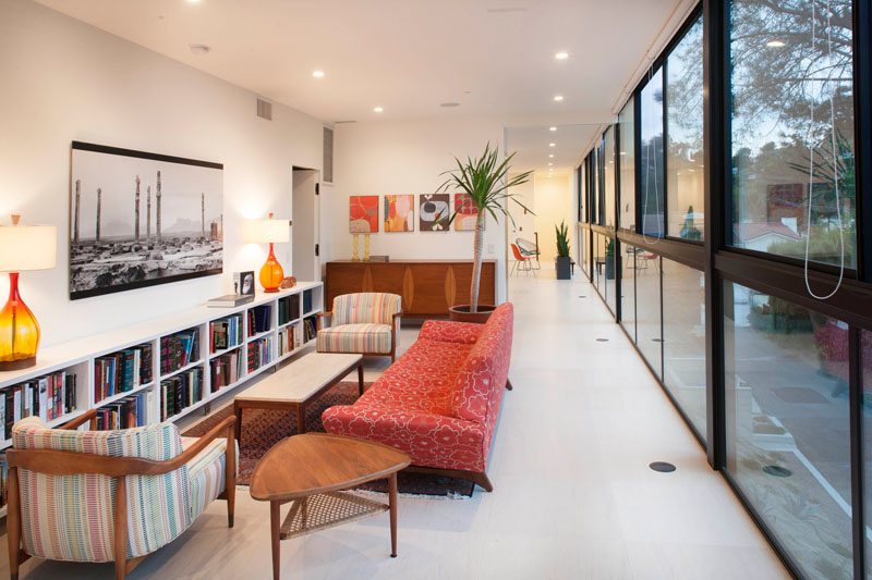 Lahaye Residence bookshelf