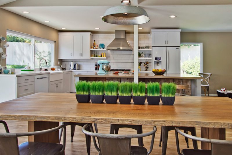 rustic modern kitchen - Rustic Modern Kitchen
