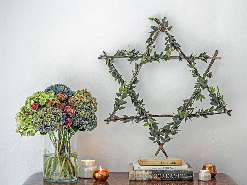 Hanukkah Wreath