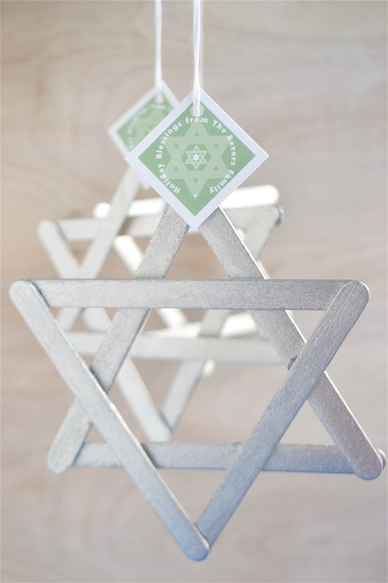 DIY Star of David Ornament