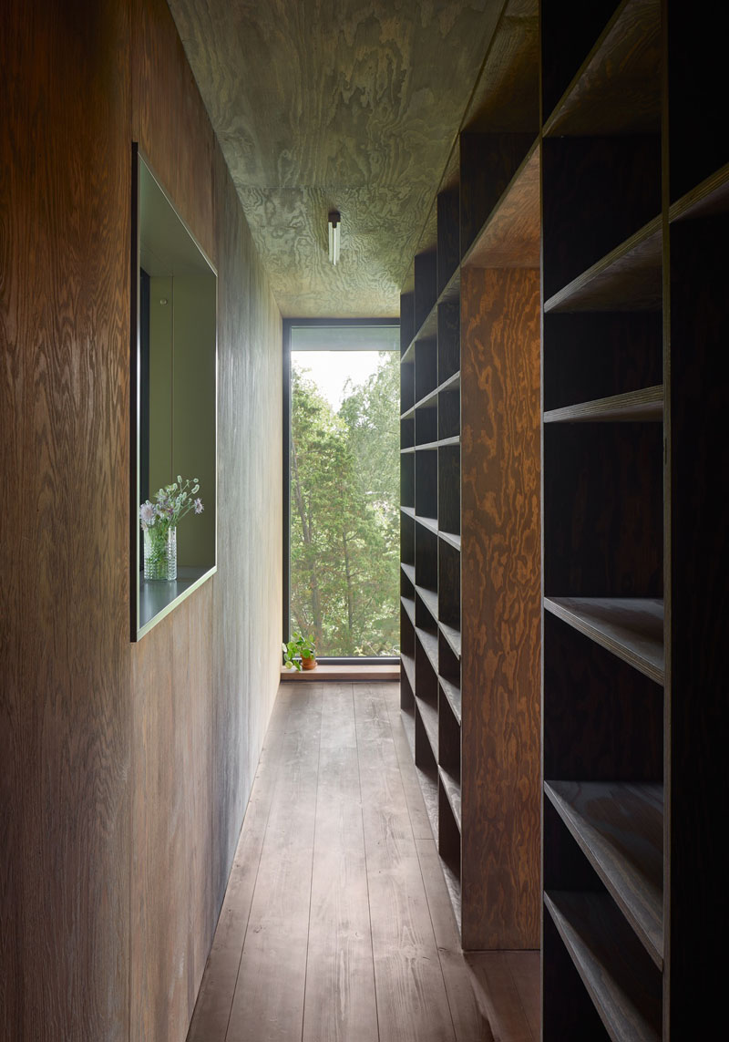 Small Summer hallway