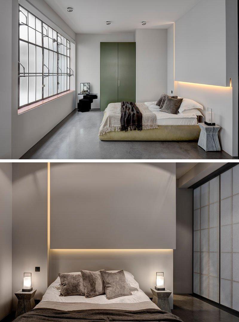 Industrial apartment shoe factory bedroom