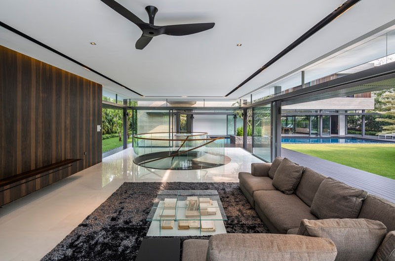 Secret Garden House living area