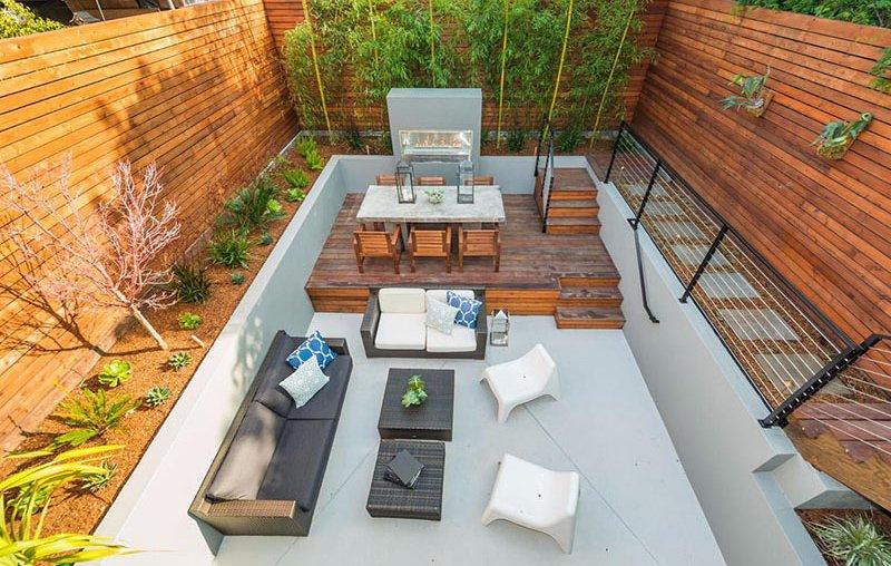 Backyard Florida design