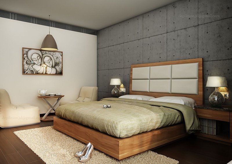 Bedroom Rendering 7