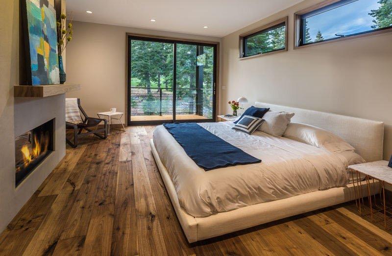 Sage Modern master bedroom