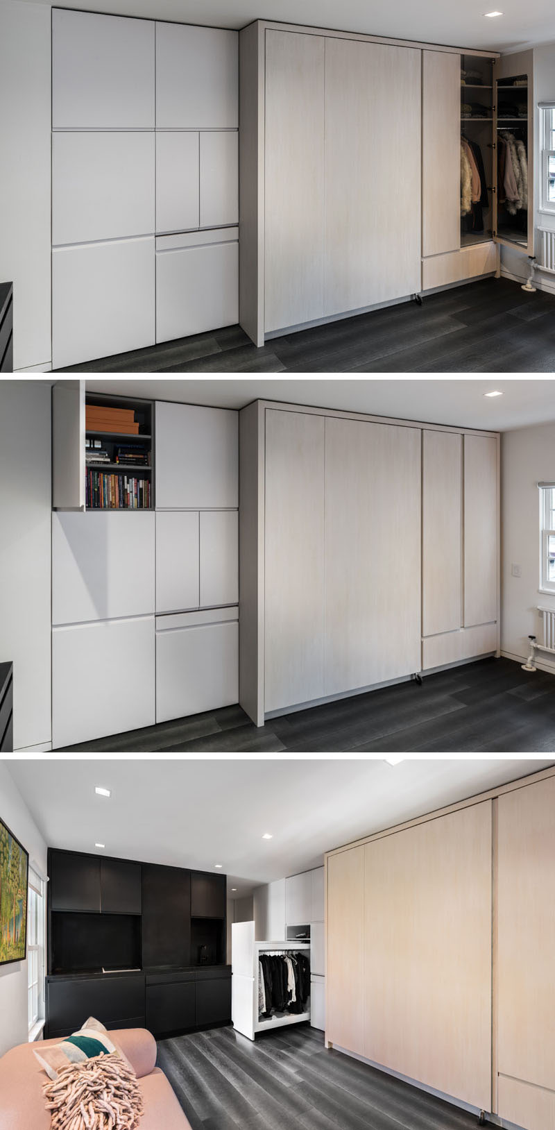 Micro Apartment storage