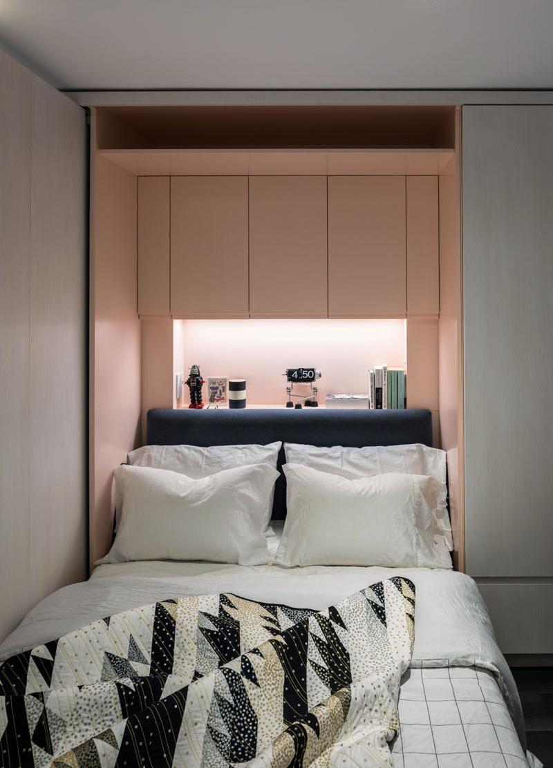 Micro Apartment bed