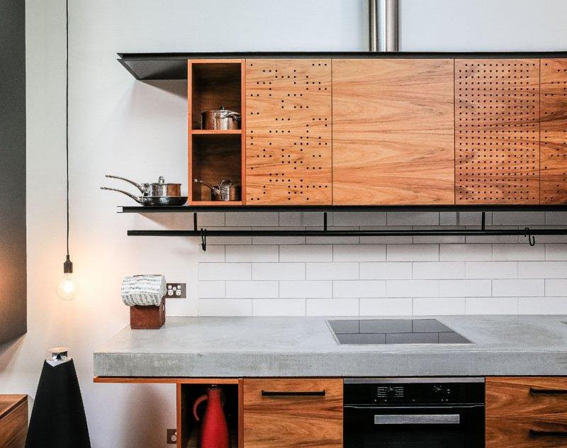 Darlinghurst Warehouse kitchen cabinets