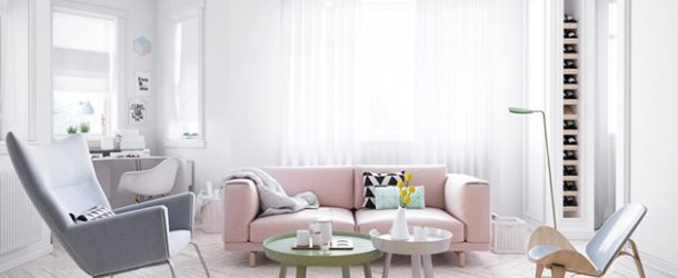 20 ways to use pastel colors in scandinavian living rooms - Home Design Lover